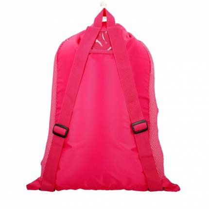 Рюкзак-сетка Speedo Deluxe Ventilator Mesh Bag розовый (1341)