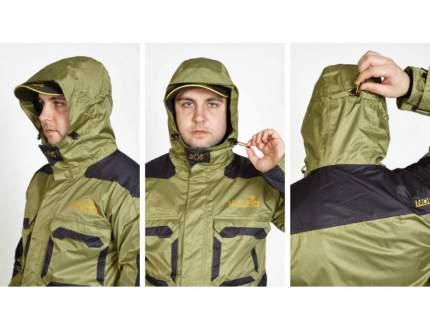 Куртка для рыбалки Norfin Peak, green, XXXL INT, 186-192 см