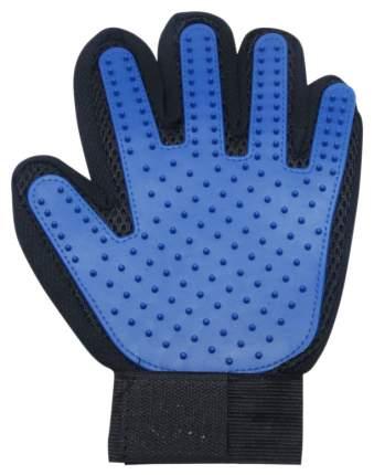 Щетка-рукавица для животных DogLemi Синяя