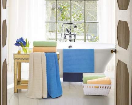 Банное полотенце Aquarelle Волна голубой