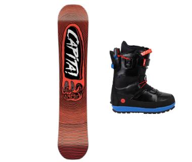 Сноуборды, ботинки и крепления