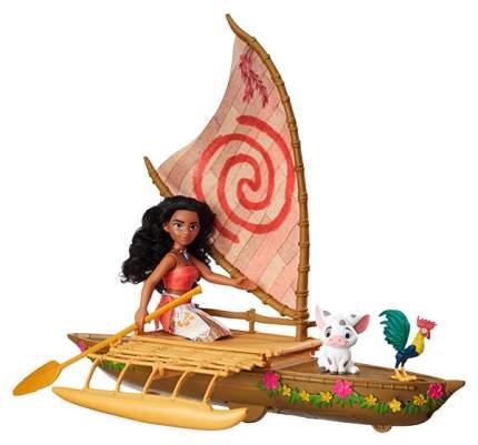 Кукла Hasbro Моана и лодка B8308