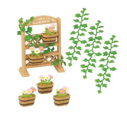 Игровой набор sylvanian families садовый декор