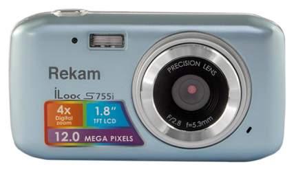 Фотоаппарат цифровой компактный Rekam iLook S755i Metallic Gray