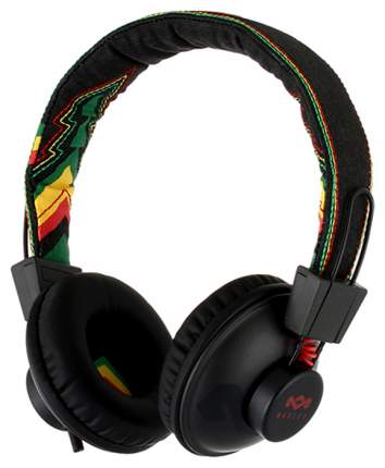 Наушники Marley Positive Vibration Rasta Black/Yellow