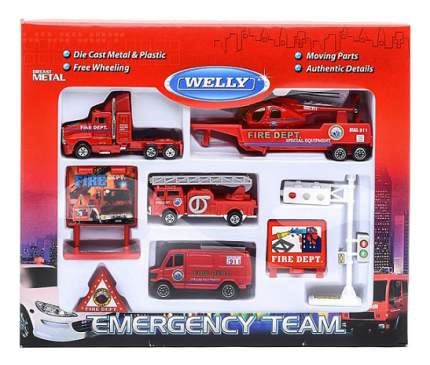 Набор машин спецслужб Welly 98630-9c