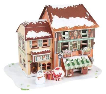 Пазл Cubic Fun 3D P650h Рождественский домик 4 (с подсветкой)