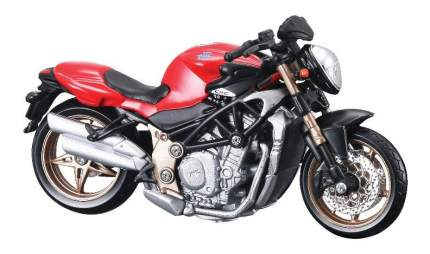 Мотоцикл металлический Bburago MV Agusta Brutale Oro 1:18