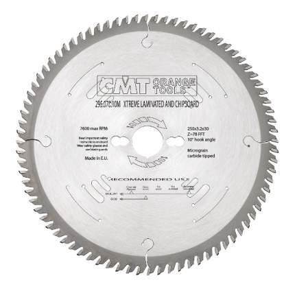 Диск по дереву для дисковых пил CMT 295.078.10M