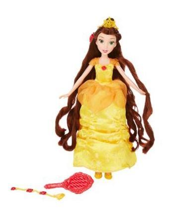 Кукла Disney Принцесса Белль в с длинными волосами и аксессуарами