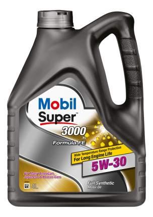 Моторное масло Mobil Super 3000 X1 Formula FE 5W30 5w30 4л 152564
