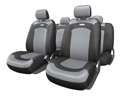 Комплект чехлов на сиденья Autoprofi Extreme XTR-803 BK/GY (M)