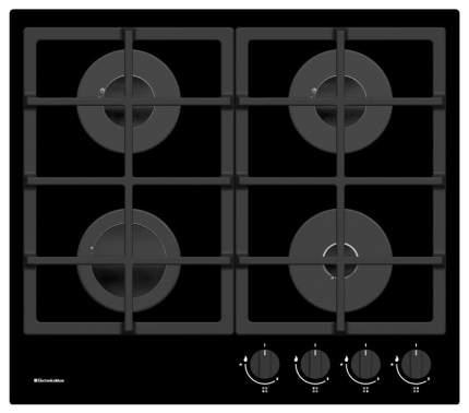Встраиваемая варочная панель газовая Electronicsdeluxe GG4 750229F-011 Black