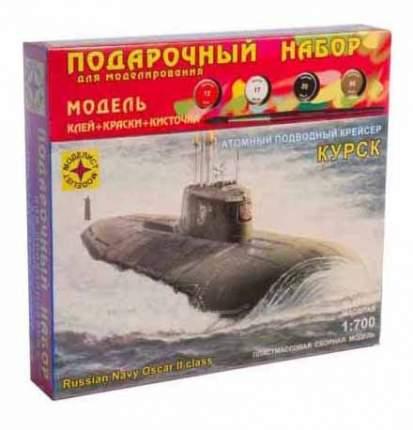 Моделист Корабль Моделист Атомный подводный крейсер Курск 1:700 черный ПН170075