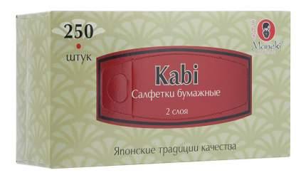 Салфетки бумажные Maneki kabi