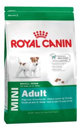 Корм для собак ROYAL CANIN MINI Adult, для маленьких пород, 8кг