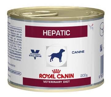 Консервы для собак ROYAL CANIN Hepatic при заболеваниях печени, 12шт по 200г