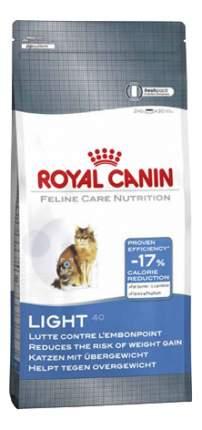 Сухой корм для кошек ROYAL CANIN Light Care, для склонных к полноте, 0,4кг