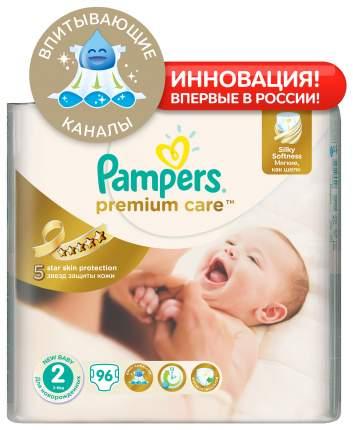 Подгузники для новорожденных Pampers Premium Care Mini 2 (3-6 кг), 96 шт.