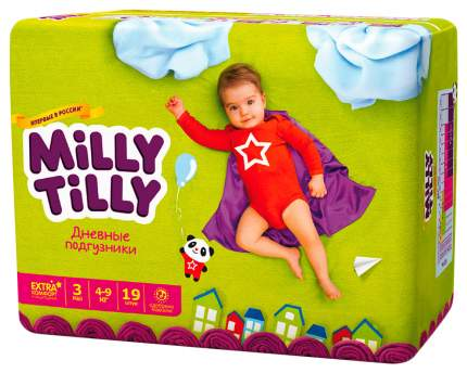 Подгузники Milly Tilly Midi 3 (4-9 кг), 64 шт.