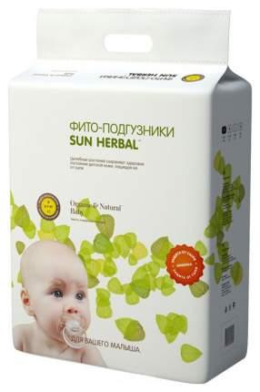 Подгузники Sun Herbal S (3-7 кг), 63 шт.