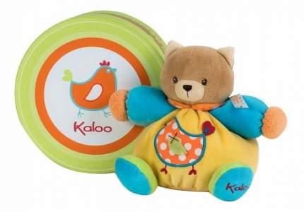 Мягкая игрушка Kaloo Котенок маленький птичка Цвета
