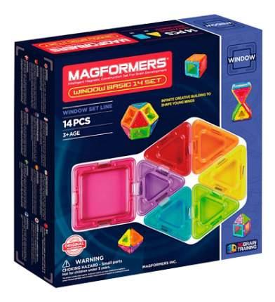 Конструктор Magformers магнитный Window Basic 14 деталей