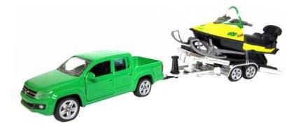 Набор Siku Машина с прицепом и снегоход