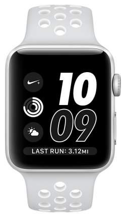 Смарт-часы Apple Watch Series 2 Nike+ 42mm Silver Al/White (MQ192RU/A)