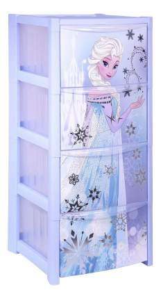 Комод детский Idea Дисней Холодное Сердце голубой