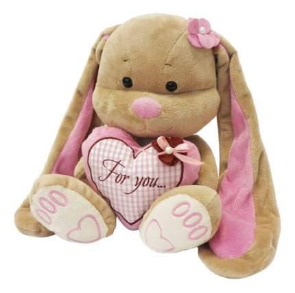 Мягкая игрушка Jack&Lin Зайка Лин с Сердцем, 25 см