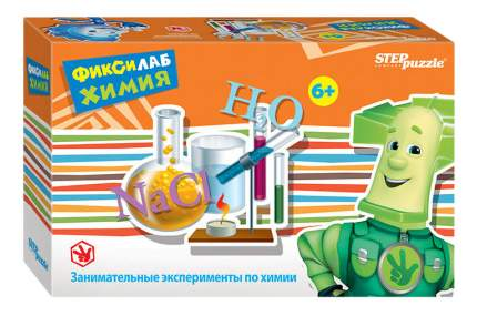 Семейная настольная игра Step Puzzle Фиксилаб Химия 76169