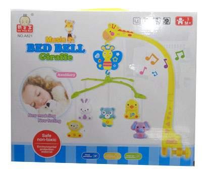 Мобиль электрический Junfa Toys Жираф