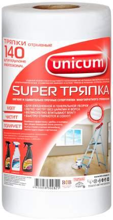 Тряпка для уборки UNICUM Super для уборки 25x30 см 140 шт