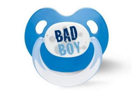 Пустышка BIBI Dental силикон 6-16 мес., Basic Care Drama Queen/Bad Boy, в ассортименте