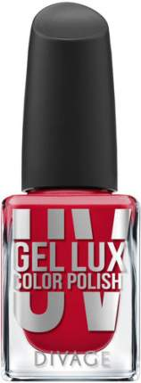Лак для ногтей DIVAGE UV Gel Lux Color Polish, тон №08