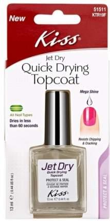 Средство для быстрой сушки лака KISS Quick Drying Topcoat, 13 мл