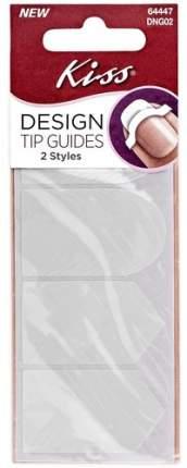 Трафареты для маникюра KISS Design Tip Guides, 40 шт