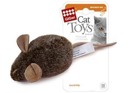 Мягкая игрушка для кошек Gigwi, искусственный мех, с электронным чипом, 3 x 15 x 3 см