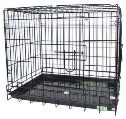 Клетка для собак KREDO металл, 48x78x55см