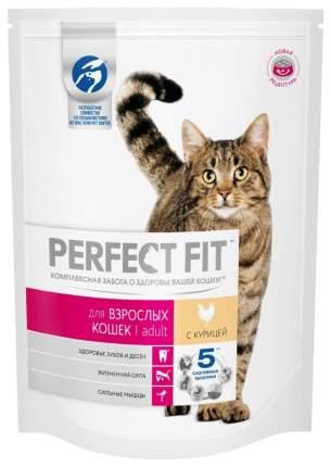 Сухой корм для кошек Perfect Fit Adult, курица, 0,19кг