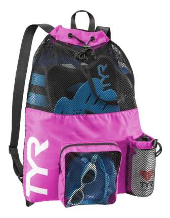 Рюкзак-сетка TYR Big Mesh Mummy LBMMB3 розовый/черный (670)