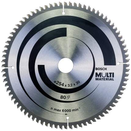 Пильный диск по дереву Bosch STD MM 254x30-80T 2608640450