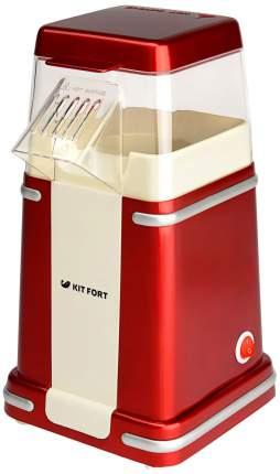 Попкорница Kitfort KT-2004 Red