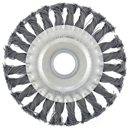 Кордщетка для шлифовальных машин MATRIX 150 мм 22,2 мм 0,5 мм