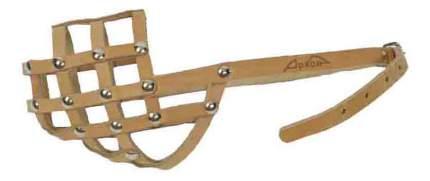 Намордник Аркон кожаный, размер 32см