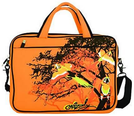 "Сумка для ноутбука 19"" Grizzly НЧ-3 оранжевая"