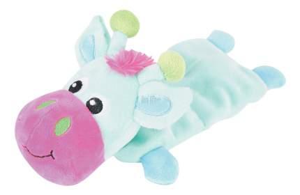 Мягкая игрушка для собак ZOLUX Корова, синий, розовый, голубой, 35,5 см