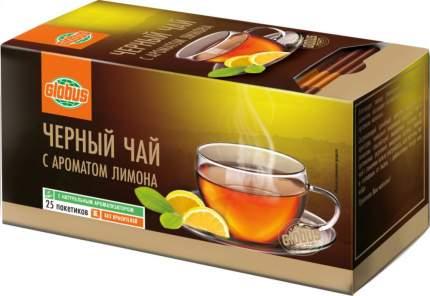 Чай черный Глобус с ароматом лимона 25 пакетиков