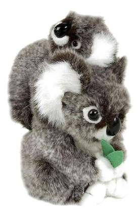 Мягкая игрушка Hansa Коала с Детенышем 28 см 2728